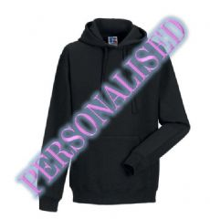NRG UNISEX PULLOVER HOODIE WITH EMBROIDERED LOGO & PERSONALISED